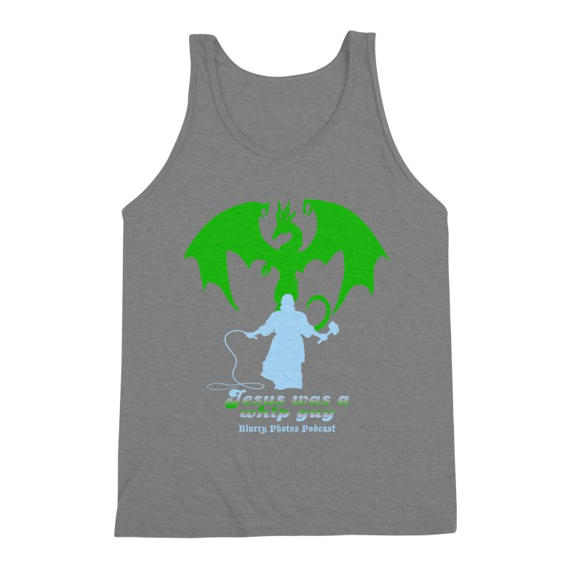 Jesus was a Whip Guy Men's Triblend Tank by Blurry Photos's Artist Shop