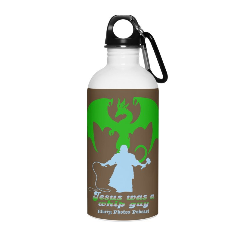 Jesus was a Whip Guy Accessories Water Bottle by Blurry Photos's Artist Shop