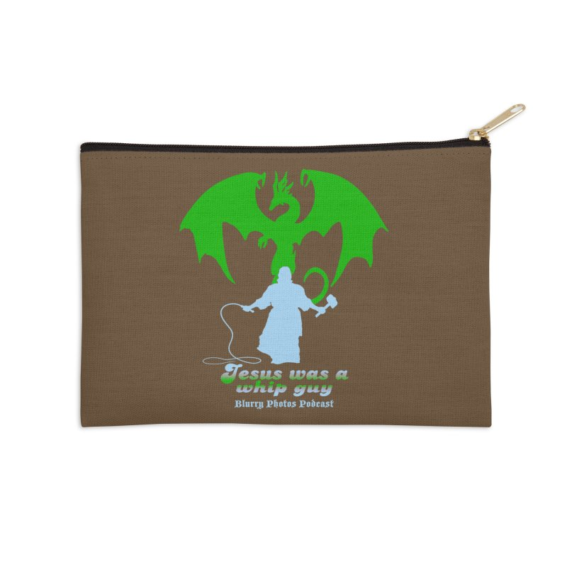 Jesus was a Whip Guy Accessories Zip Pouch by Blurry Photos's Artist Shop