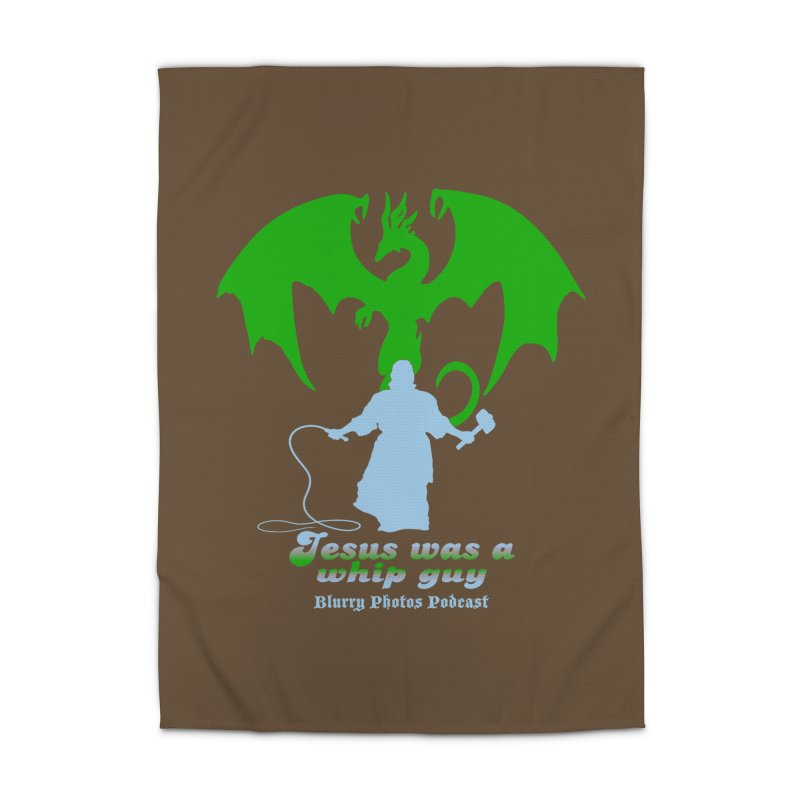 Jesus was a Whip Guy Home Rug by Blurry Photos's Artist Shop
