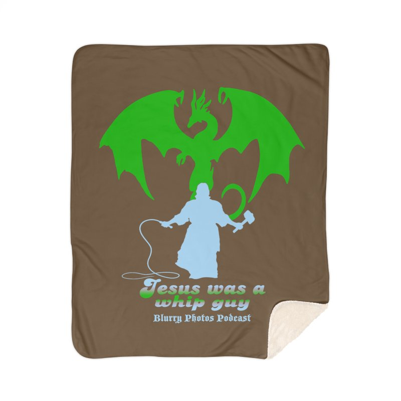 Jesus was a Whip Guy Home Blanket by Blurry Photos's Artist Shop
