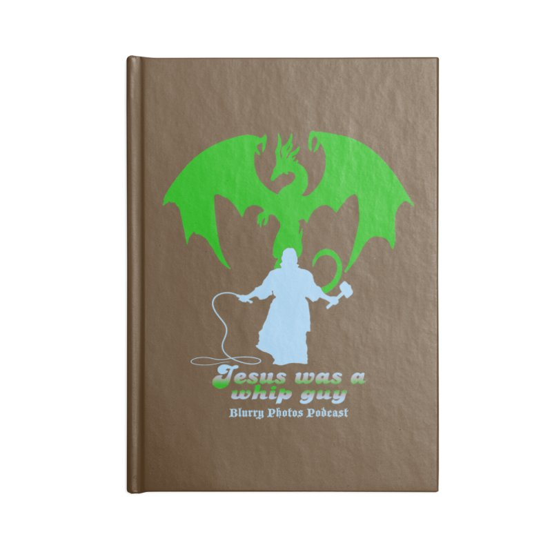 Jesus was a Whip Guy Accessories Lined Journal Notebook by Blurry Photos's Artist Shop