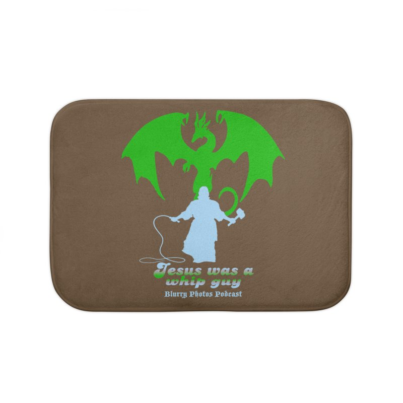 Jesus was a Whip Guy Home Bath Mat by Blurry Photos's Artist Shop