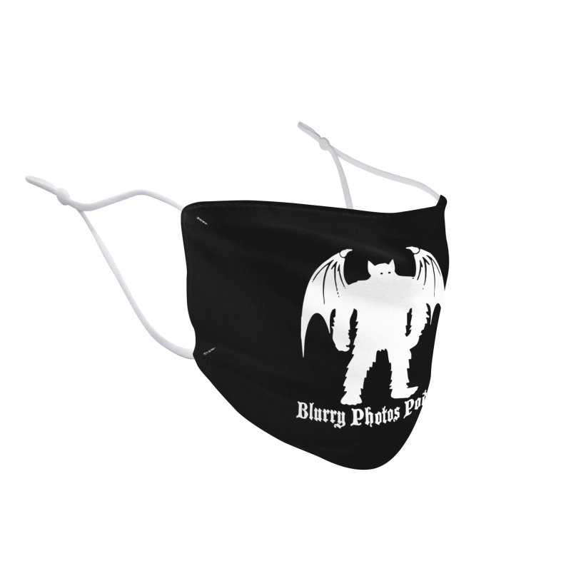 Batsquatch Accessories Face Mask by Blurry Photos's Artist Shop