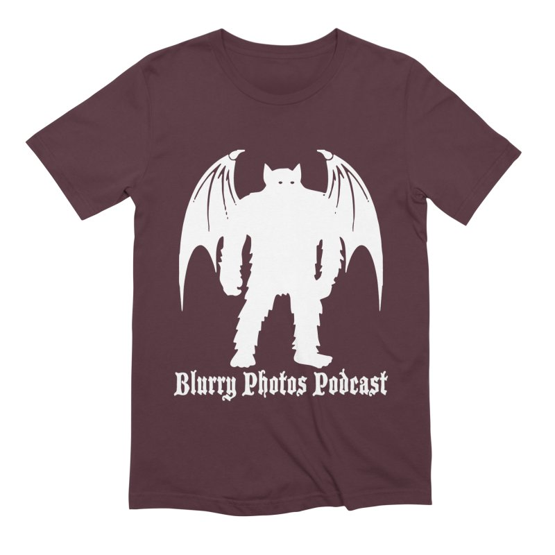 Batsquatch Men's T-Shirt by Blurry Photos's Artist Shop