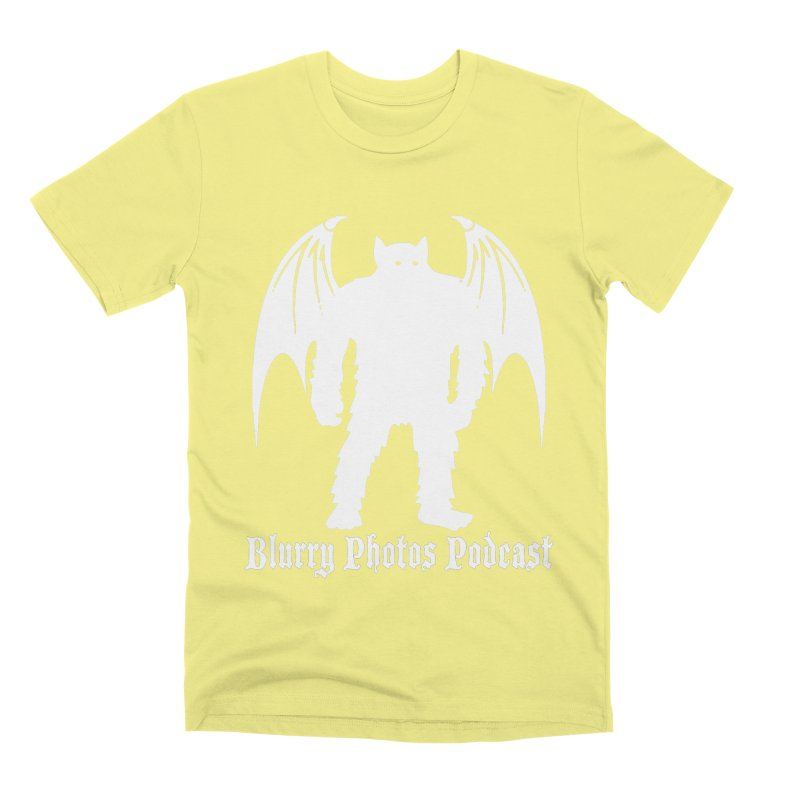 Batsquatch Men's Premium T-Shirt by Blurry Photos's Artist Shop