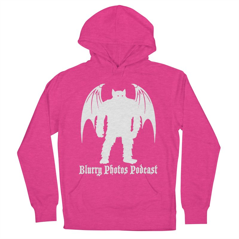 Batsquatch Women's French Terry Pullover Hoody by Blurry Photos's Artist Shop