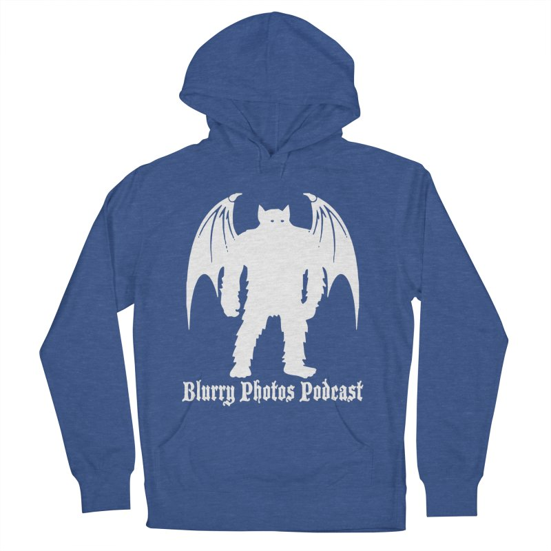 Batsquatch Men's French Terry Pullover Hoody by Blurry Photos's Artist Shop
