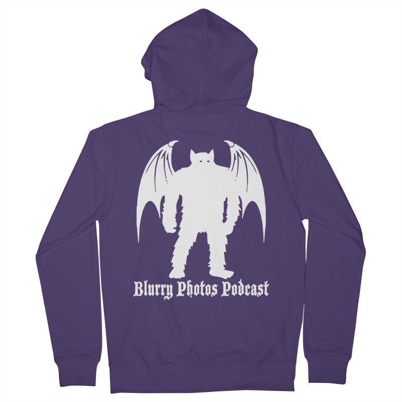 Batsquatch Women's French Terry Zip-Up Hoody by Blurry Photos's Artist Shop