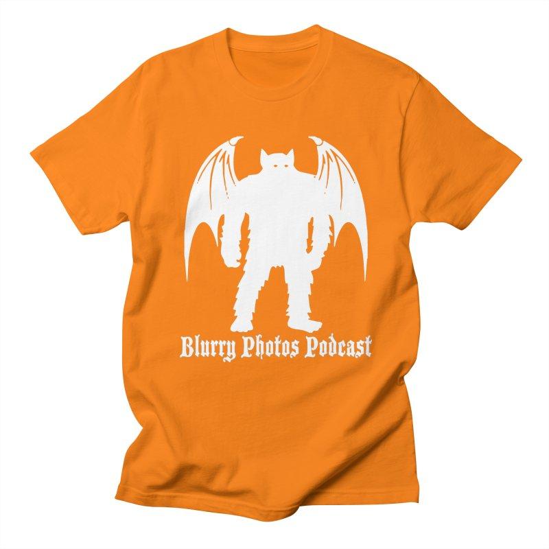 Batsquatch Men's Regular T-Shirt by Blurry Photos's Artist Shop