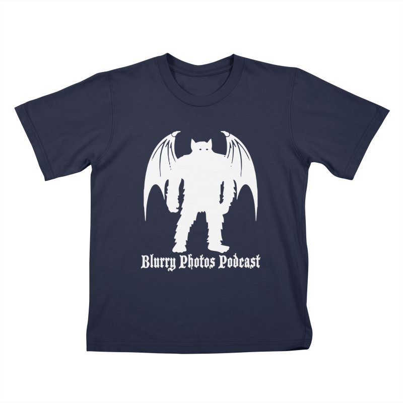 Batsquatch Kids T-Shirt by Blurry Photos's Artist Shop