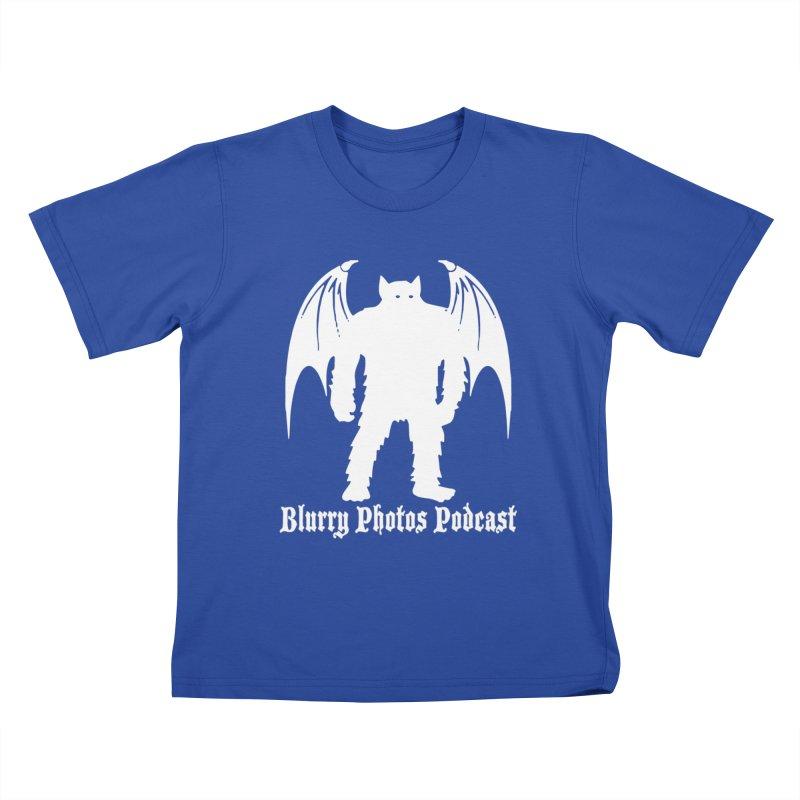 Batsquatch Kids T-Shirt by Blurry Photos's Artist Shop