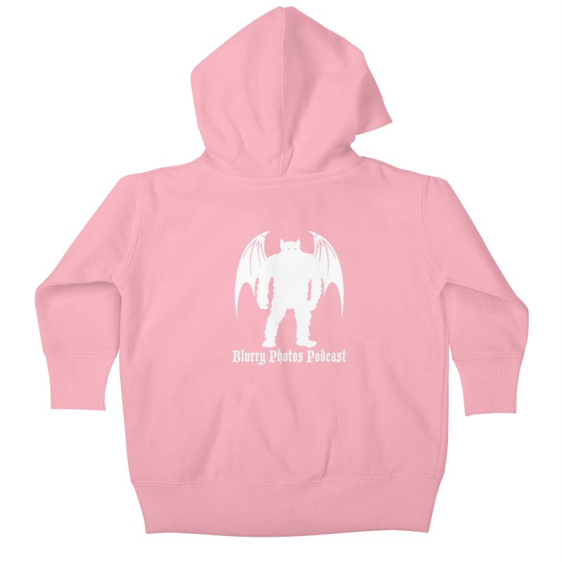 Batsquatch Kids Baby Zip-Up Hoody by Blurry Photos's Artist Shop