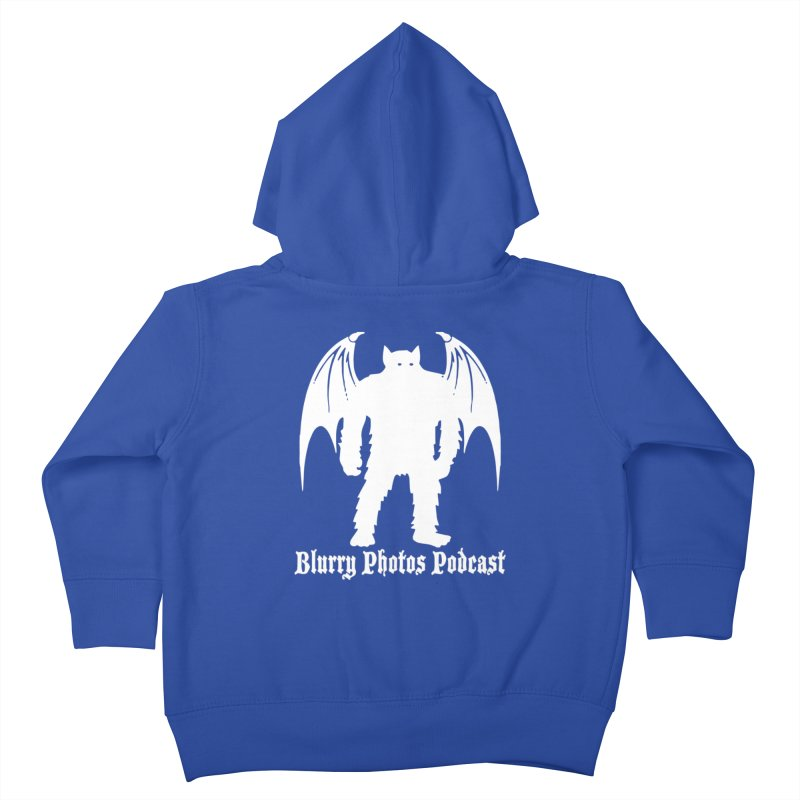 Batsquatch Kids Toddler Zip-Up Hoody by Blurry Photos's Artist Shop