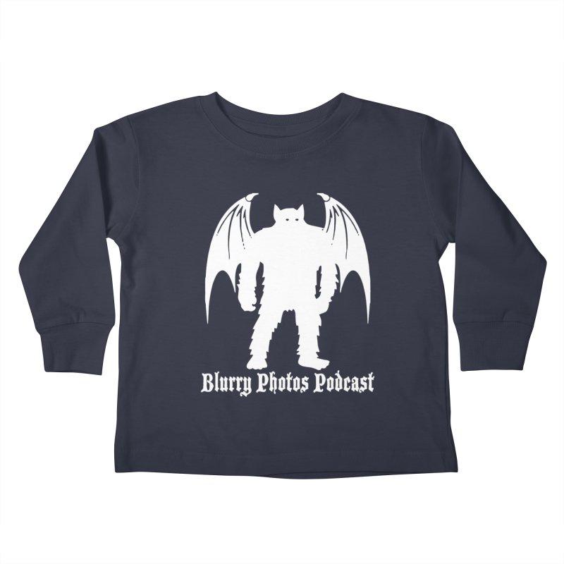 Batsquatch Kids Toddler Longsleeve T-Shirt by Blurry Photos's Artist Shop