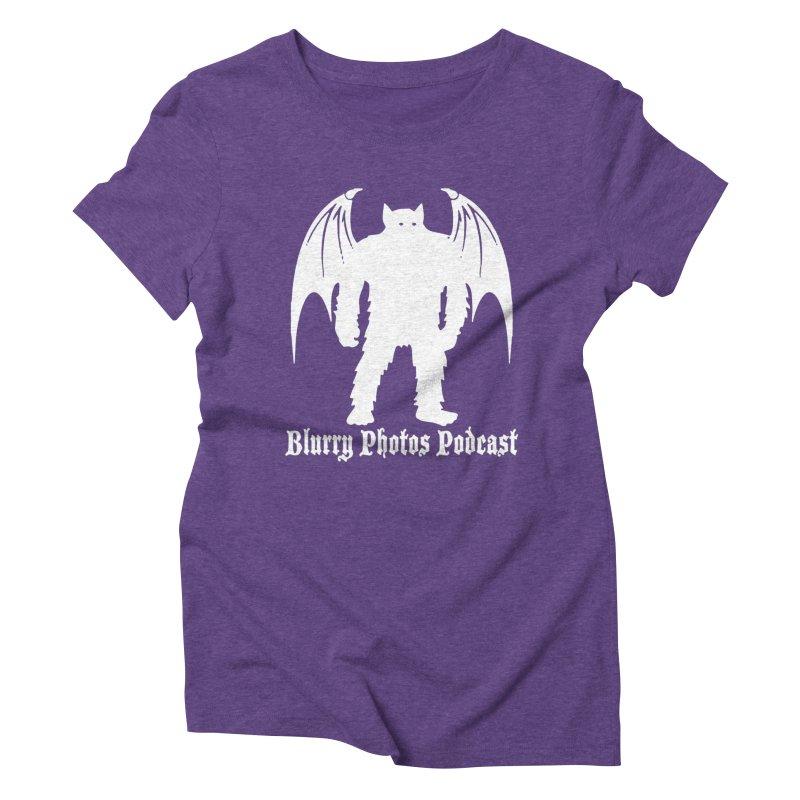 Batsquatch Women's Triblend T-Shirt by Blurry Photos's Artist Shop