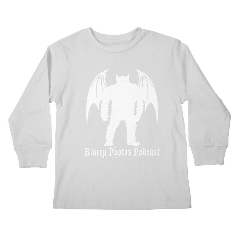 Batsquatch Kids Longsleeve T-Shirt by Blurry Photos's Artist Shop