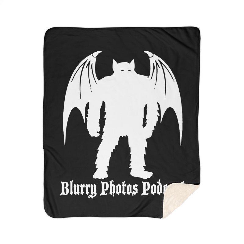 Batsquatch Home Sherpa Blanket Blanket by Blurry Photos's Artist Shop