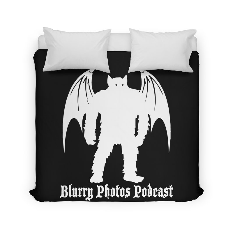 Batsquatch Home Duvet by Blurry Photos's Artist Shop