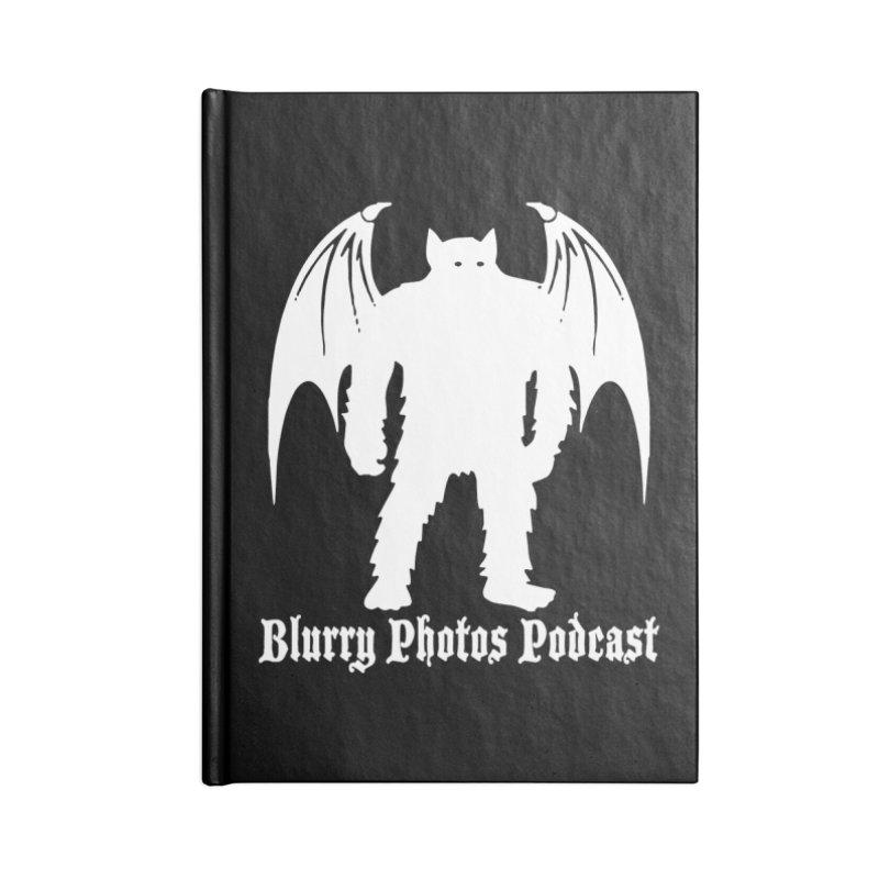 Batsquatch Accessories Lined Journal Notebook by Blurry Photos's Artist Shop