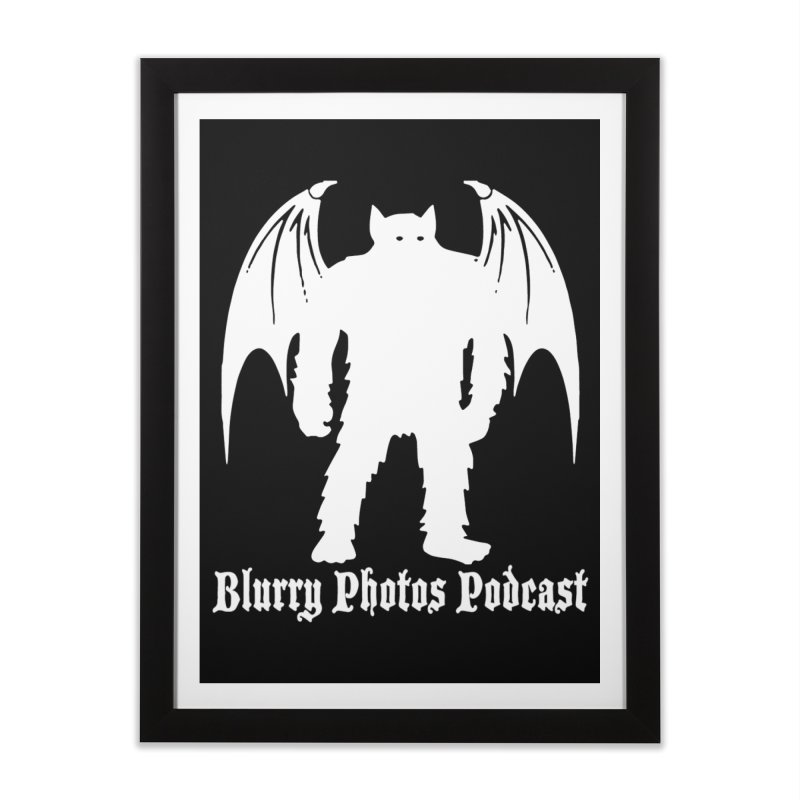 Batsquatch Home Framed Fine Art Print by Blurry Photos's Artist Shop