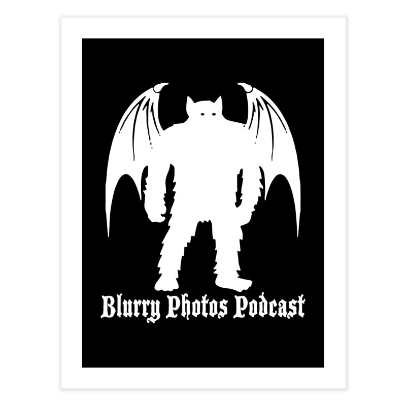 Batsquatch Home Fine Art Print by Blurry Photos's Artist Shop