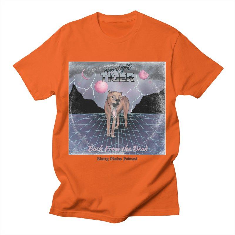 Moonlight Tiger Men's T-Shirt by Blurry Photos's Artist Shop