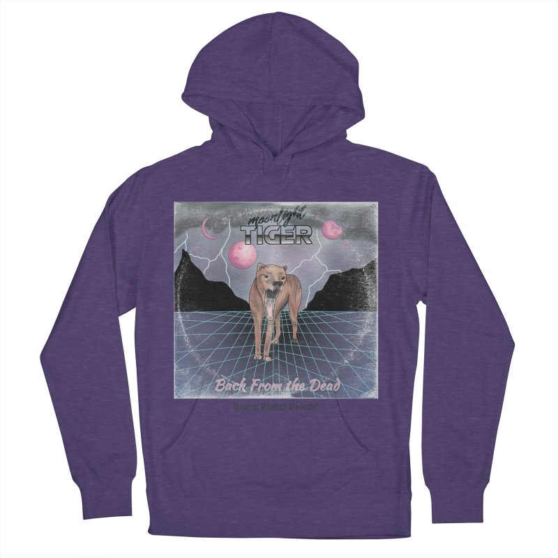 Moonlight Tiger Women's French Terry Pullover Hoody by Blurry Photos's Artist Shop
