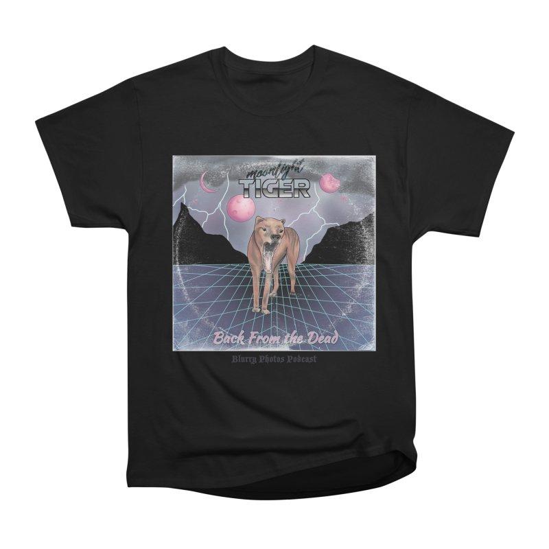 Moonlight Tiger Men's Heavyweight T-Shirt by Blurry Photos's Artist Shop