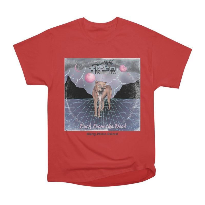Moonlight Tiger Women's Heavyweight Unisex T-Shirt by Blurry Photos's Artist Shop