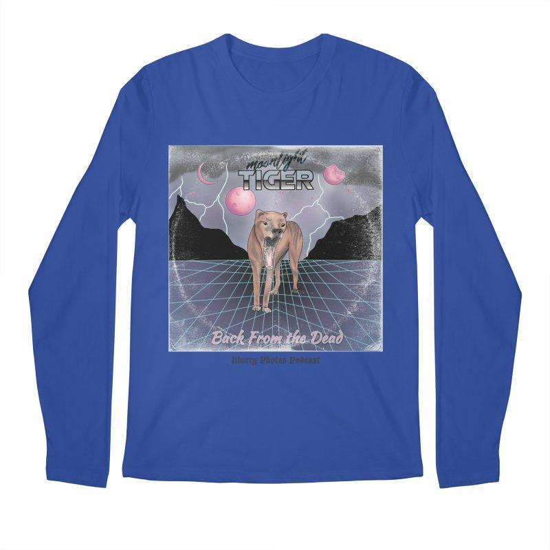 Moonlight Tiger Men's Regular Longsleeve T-Shirt by Blurry Photos's Artist Shop