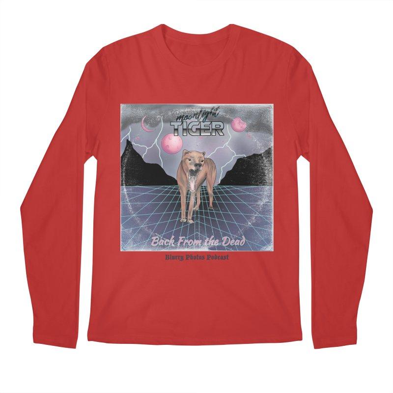 Moonlight Tiger Men's Longsleeve T-Shirt by Blurry Photos's Artist Shop