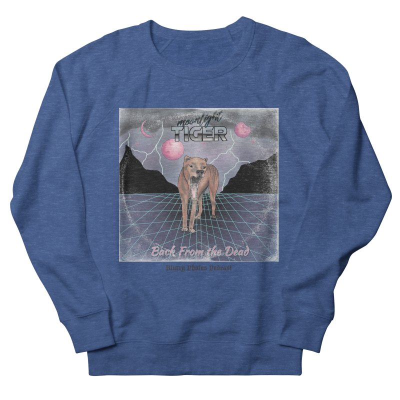 Moonlight Tiger Men's Sweatshirt by Blurry Photos's Artist Shop