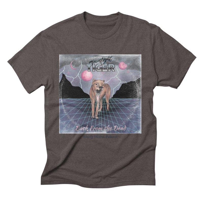 Moonlight Tiger Men's Triblend T-Shirt by Blurry Photos's Artist Shop