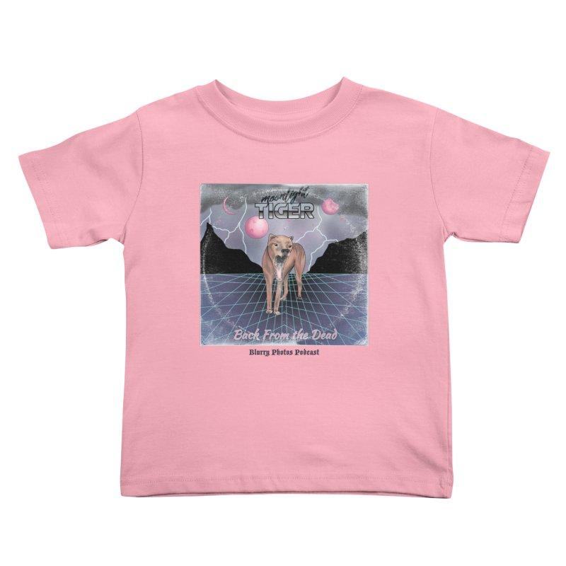 Moonlight Tiger Kids Toddler T-Shirt by Blurry Photos's Artist Shop