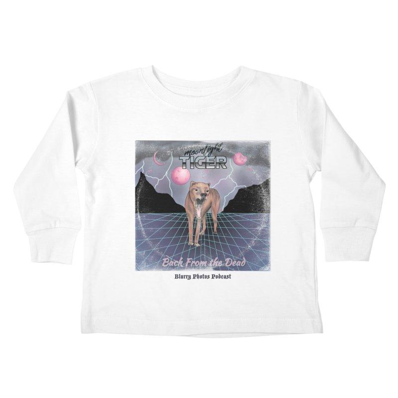 Moonlight Tiger Kids Toddler Longsleeve T-Shirt by Blurry Photos's Artist Shop