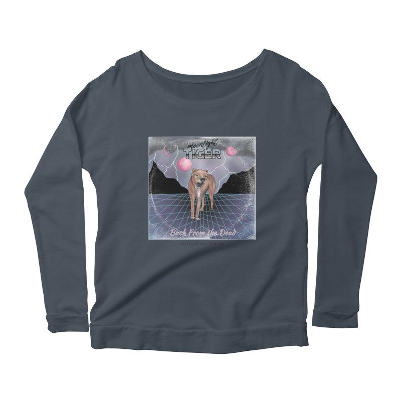 Moonlight Tiger Women's Scoop Neck Longsleeve T-Shirt by Blurry Photos's Artist Shop