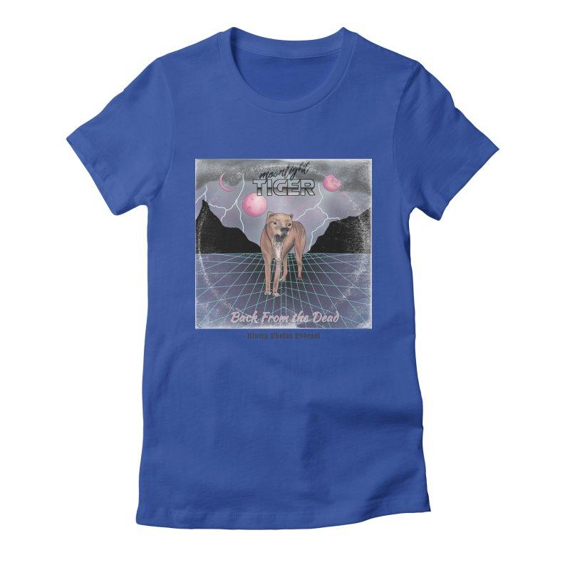 Moonlight Tiger Women's T-Shirt by Blurry Photos's Artist Shop