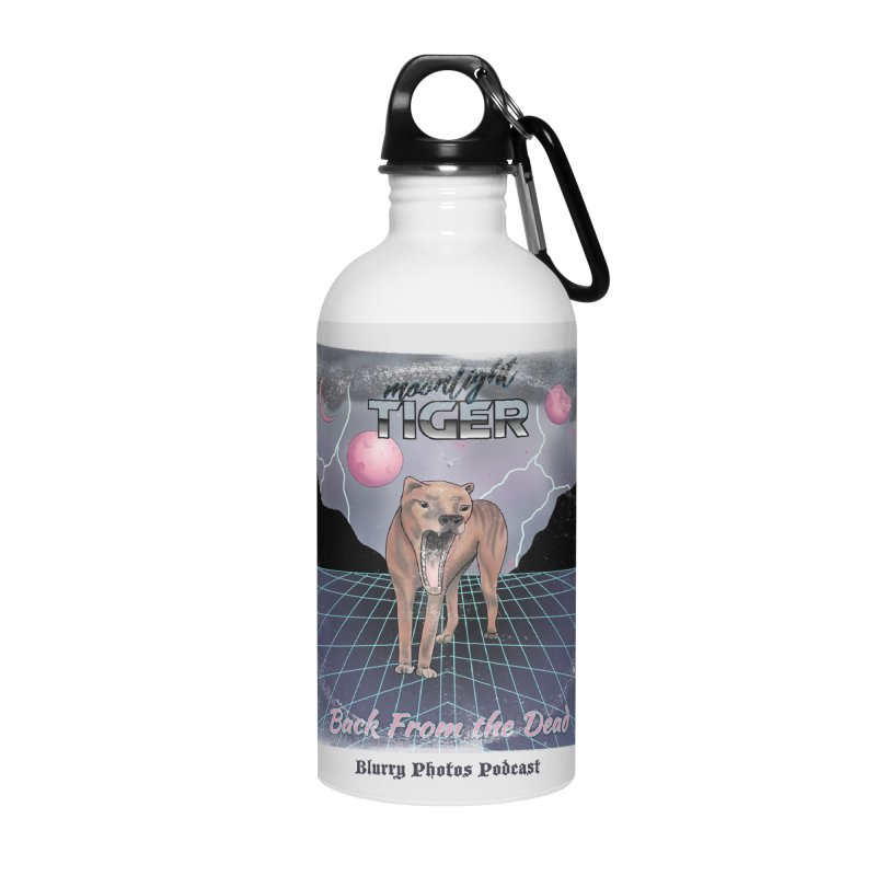 Moonlight Tiger Accessories Water Bottle by Blurry Photos's Artist Shop