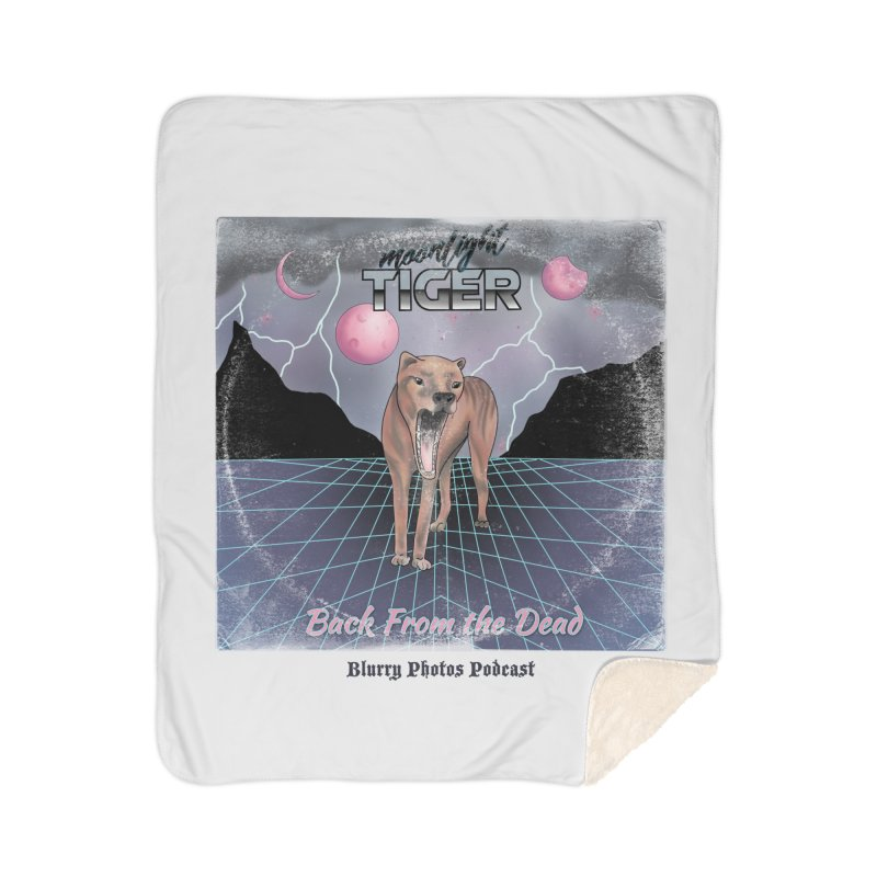 Moonlight Tiger Home Blanket by Blurry Photos's Artist Shop