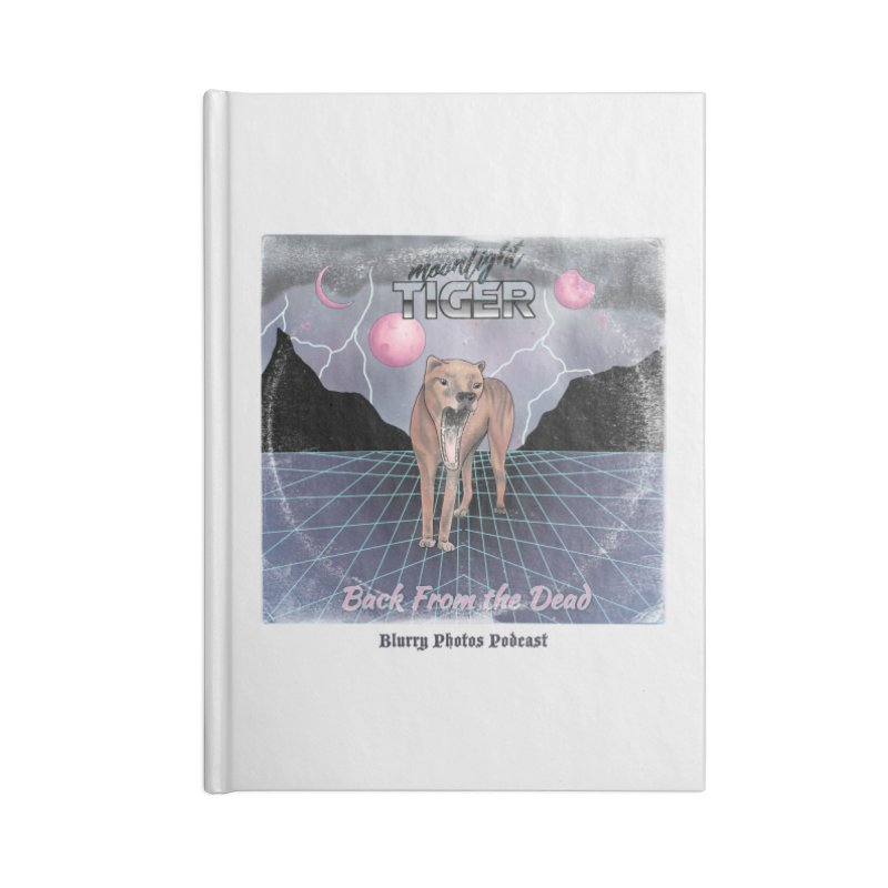 Moonlight Tiger Accessories Notebook by Blurry Photos's Artist Shop