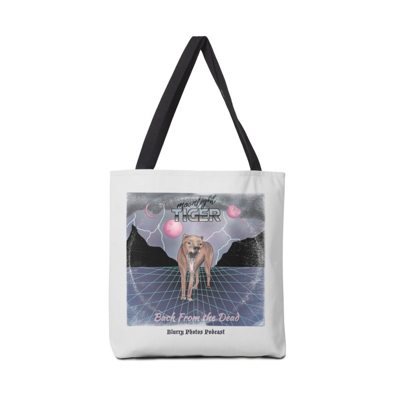 Moonlight Tiger Accessories Tote Bag Bag by Blurry Photos's Artist Shop