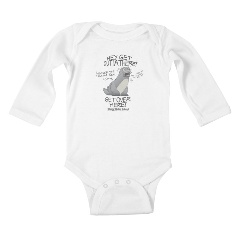 Hoover Kids Baby Longsleeve Bodysuit by Blurry Photos's Artist Shop