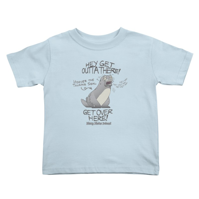 Hoover Kids Toddler T-Shirt by Blurry Photos's Artist Shop