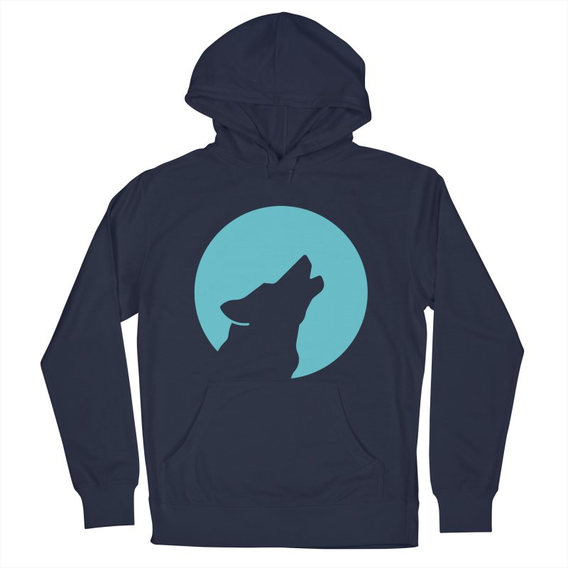 Howling Wolf Women's Pullover Hoody by BMaw's Artist Shop