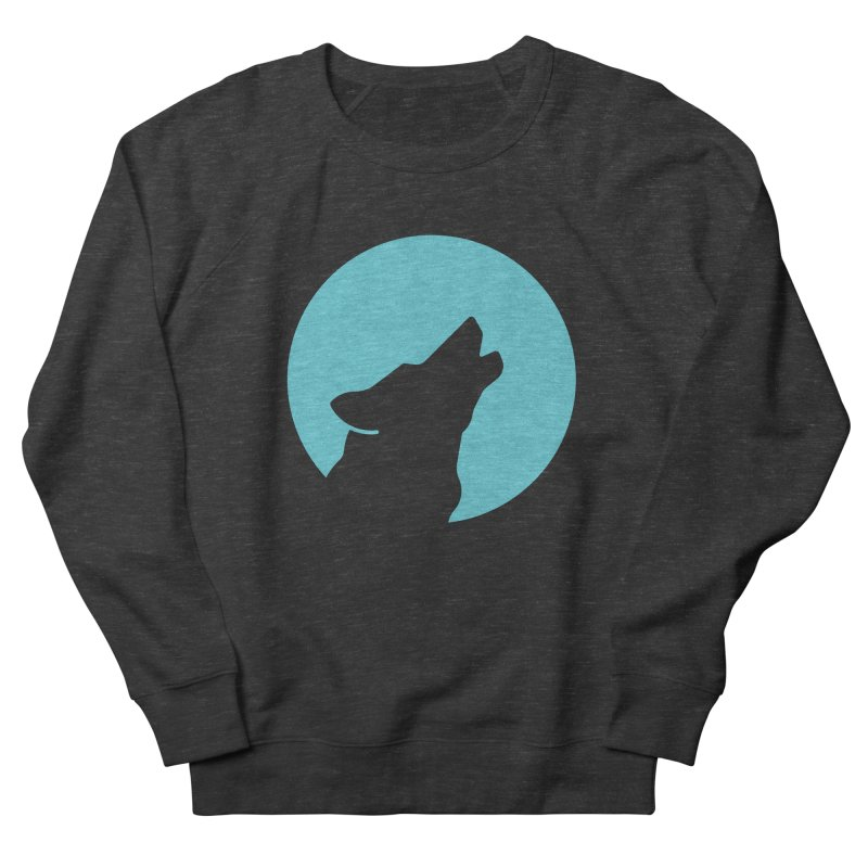 Howling Wolf Women's Sweatshirt by BMaw's Artist Shop