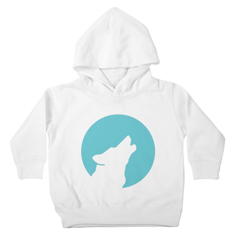 Howling Wolf Kids Toddler Pullover Hoody by BMaw's Artist Shop