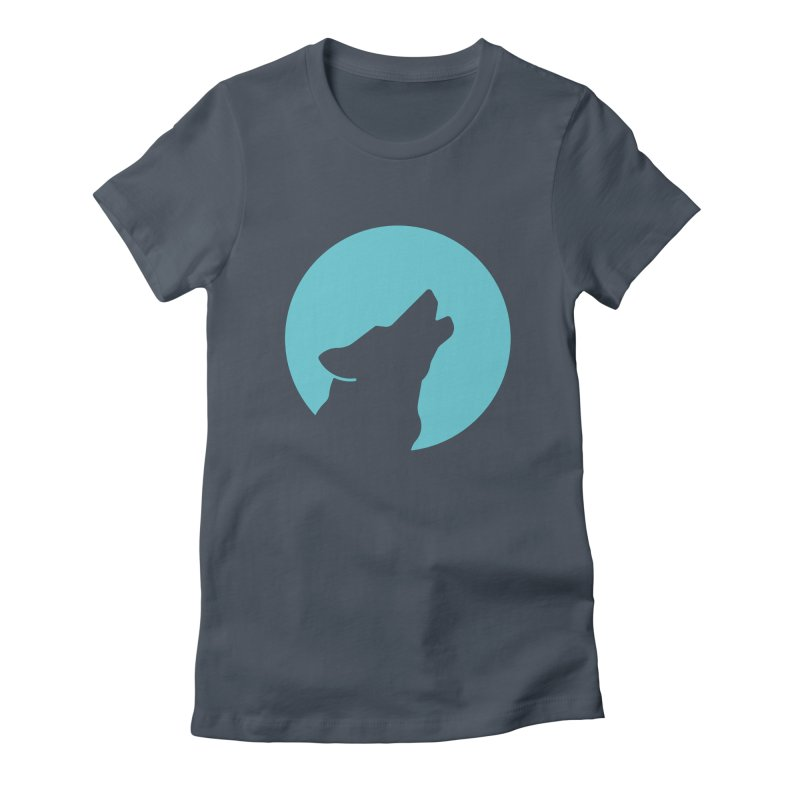 Howling Wolf Women's T-Shirt by BMaw's Artist Shop