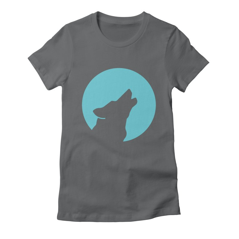 Howling Wolf Women's T-Shirt by BMaw's Artist Shop