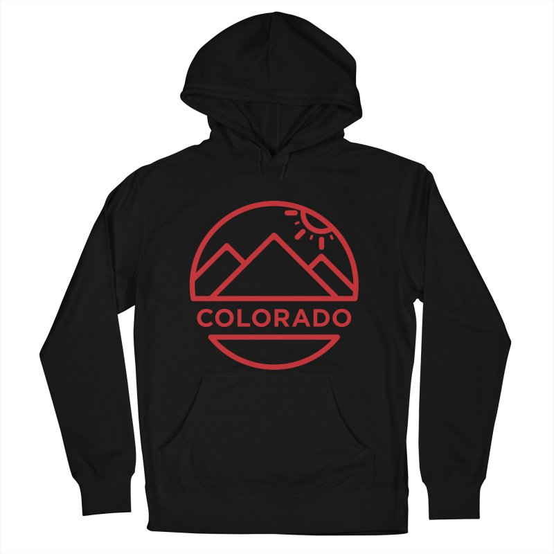 Explore Colorado Women's French Terry Pullover Hoody by BMaw's Artist Shop